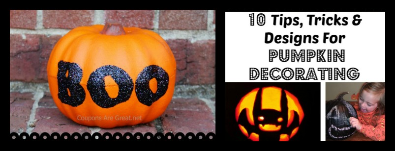 10 Tips, Tricks and Designs for Pumpkin Decorating