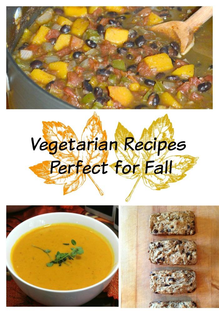 14 vegetarian fall recipes- update