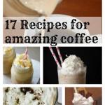 17 coffee recipes