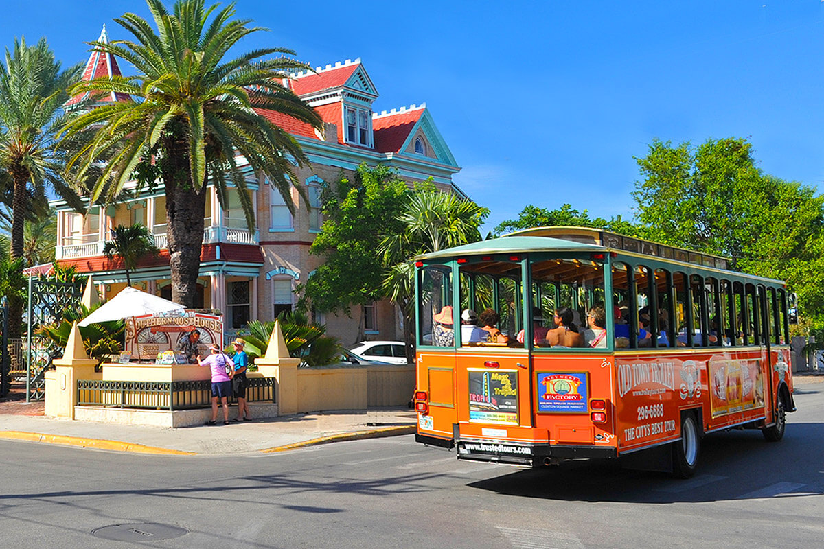 Hop On Hop Off Key West Trolley