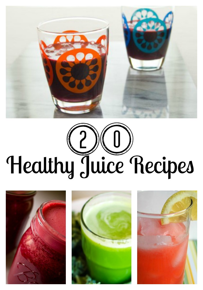 20 Juice recipes