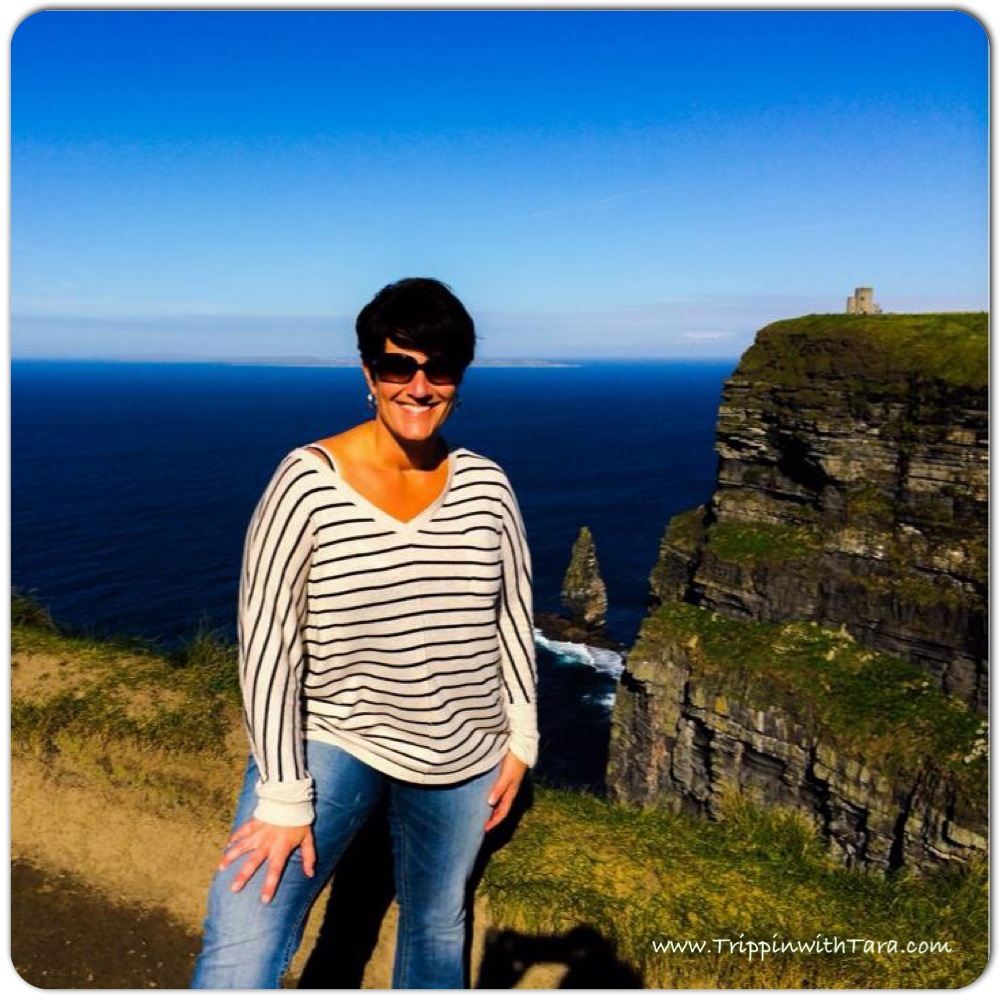 Trippin with Tara at the Cliffs of Moher