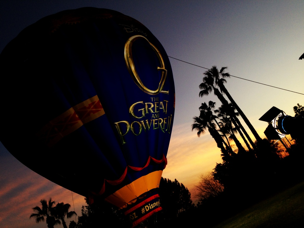 Oz The Great and Powerful Hot Air Balloon
