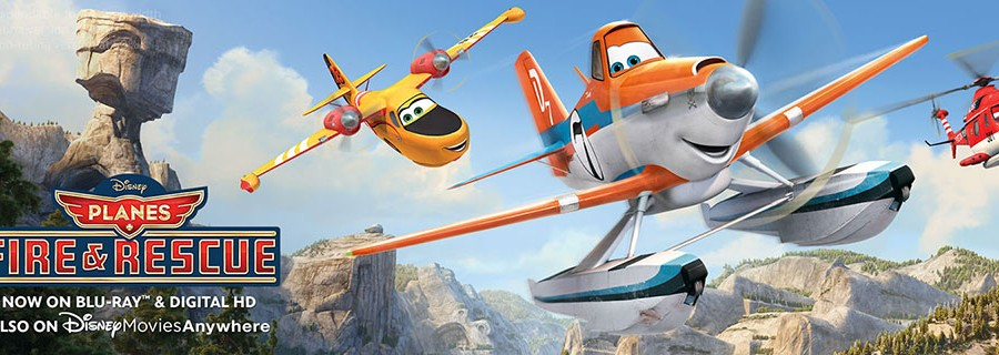 Planes: Fire and Rescue on DVD