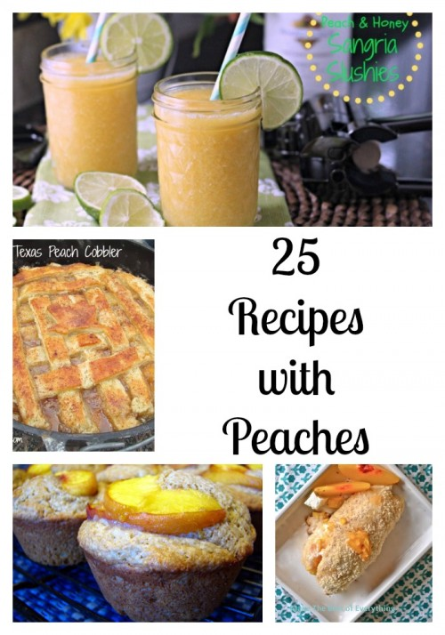 25 peaches
