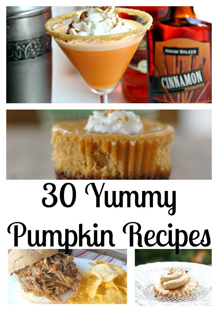 30 yummy pumpkin recipes