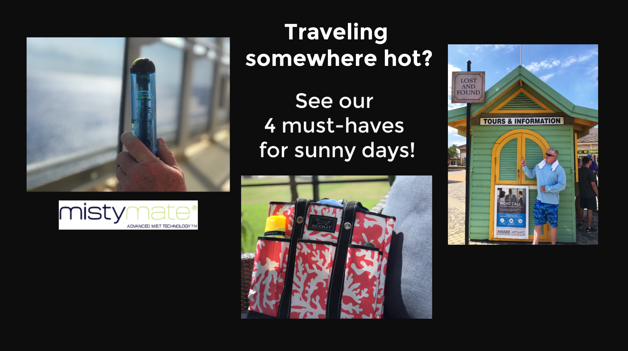4 Hust-Haves for Sunny Days