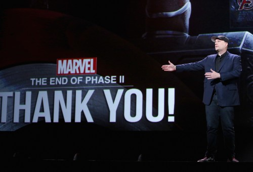 (Photo by Jesse Grant/Getty Images for Disney) Kevin Feige