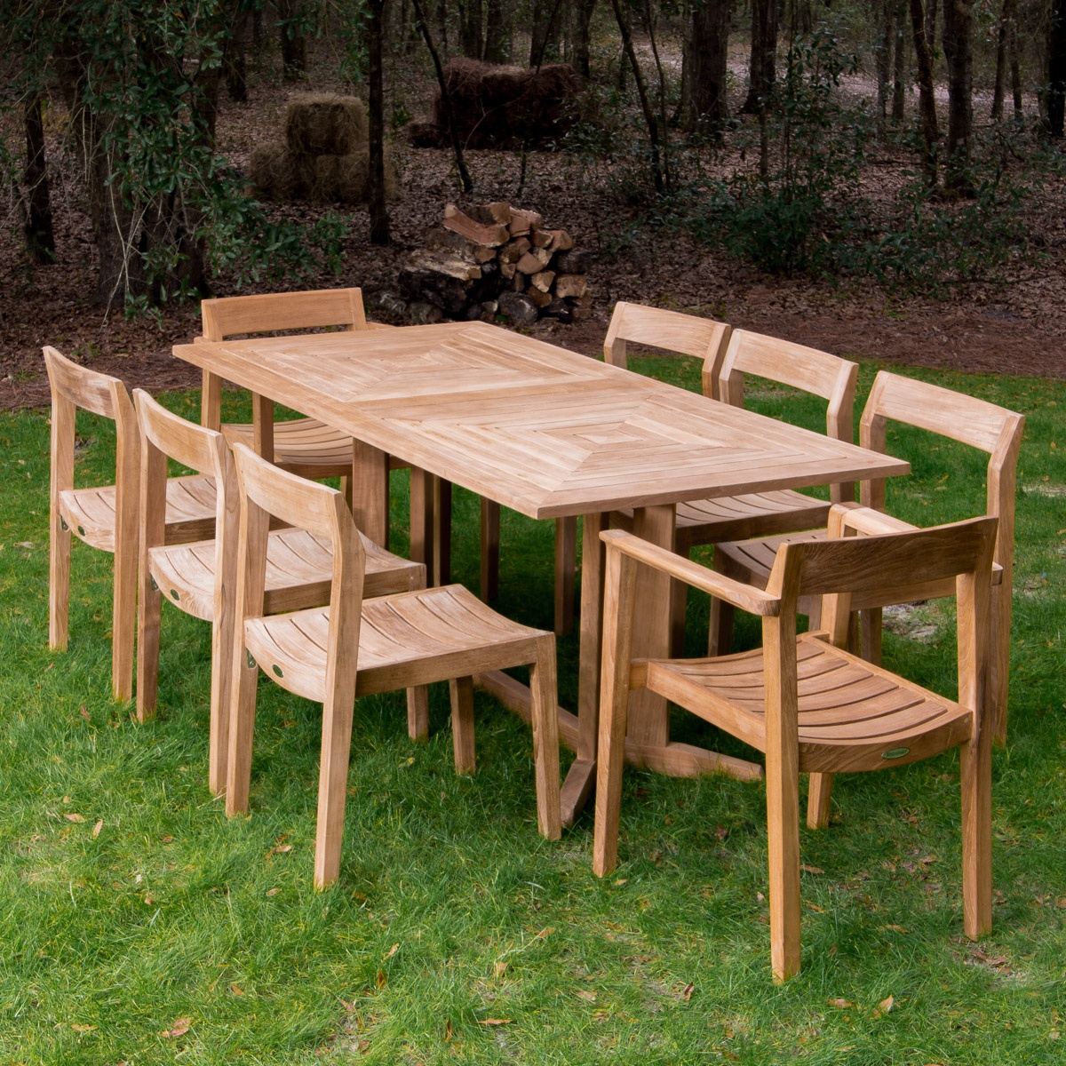 table for 10 teak wood dining