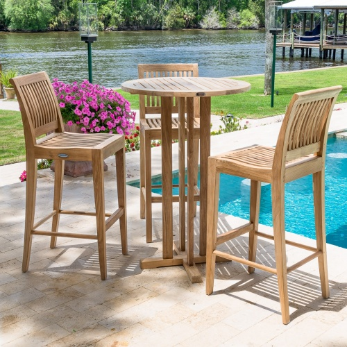 outdoor hightop table