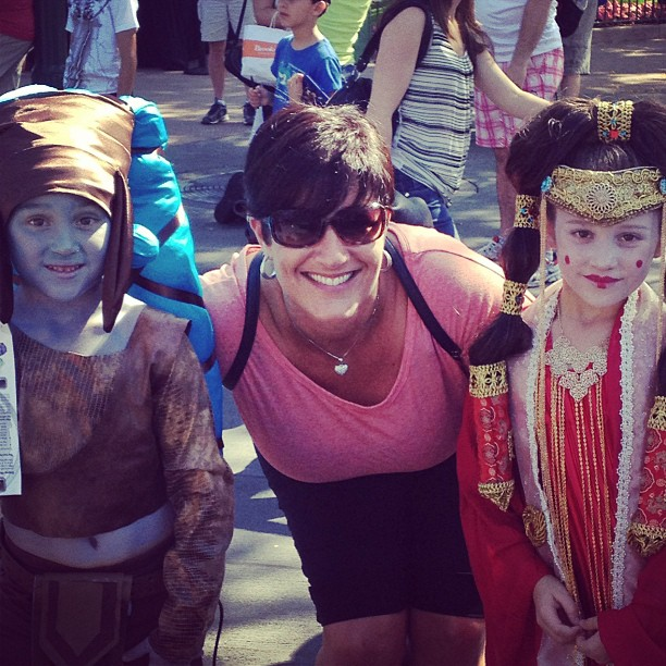 Star Wars Weekends with Kids in Costume