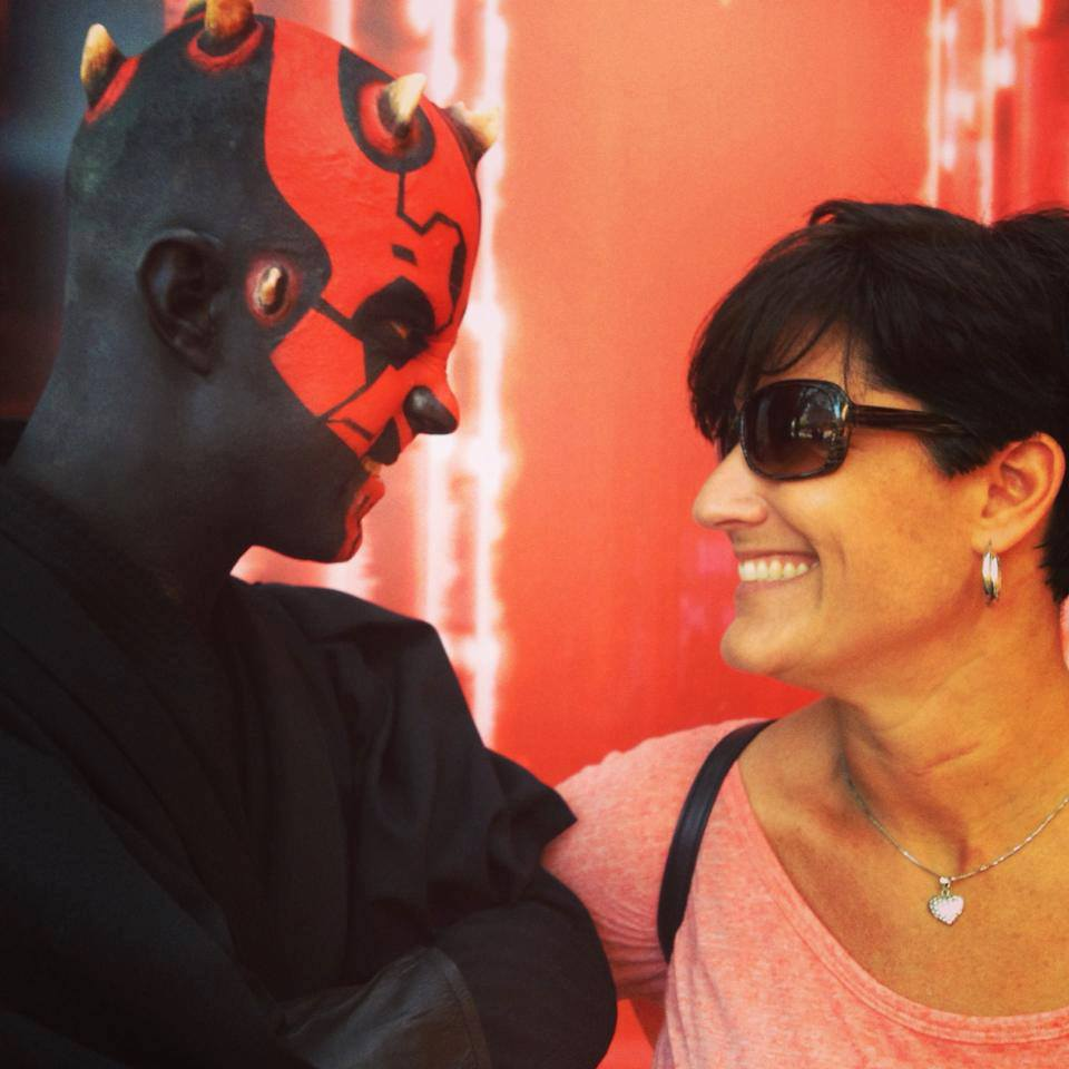 Star Wars Weekends meet and greet with Darth Maul