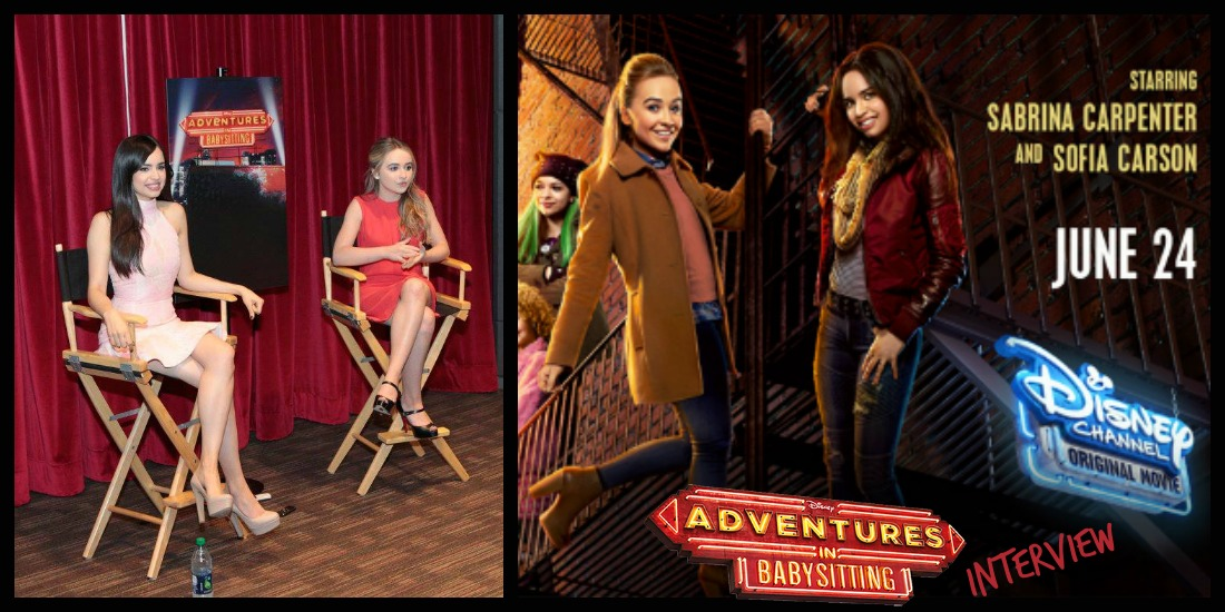 Adventures In Babysitting With Sofia Carson And Sabrina