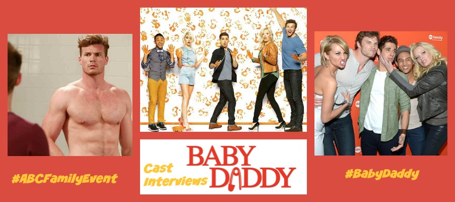 the cast of baby daddy abcfamilyevent