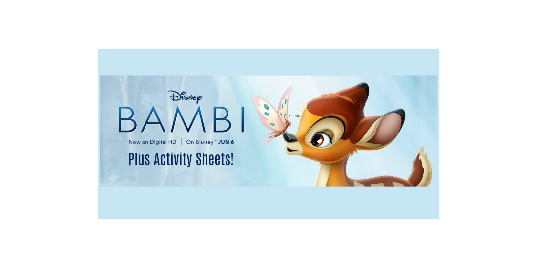 Bambi on Bluray