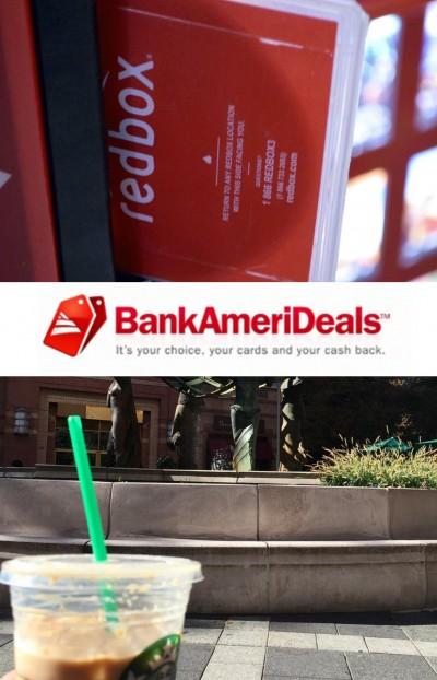 BankAmeriDealsredboxstarbucks