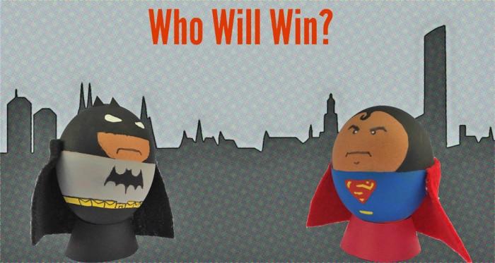 BatmanSupermanEggs