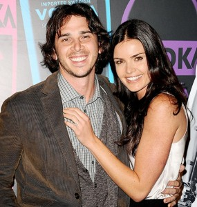 "Ben Flajnik and Courtney Robertson attend the 2nd annual ""Night of a Billion Reality Stars"" bash in 2012. Jason LaVeris/FilmMagizine via usmagazine.com"