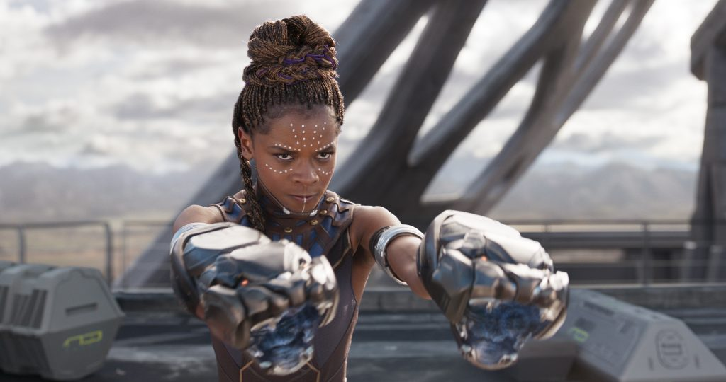 sister of black panther