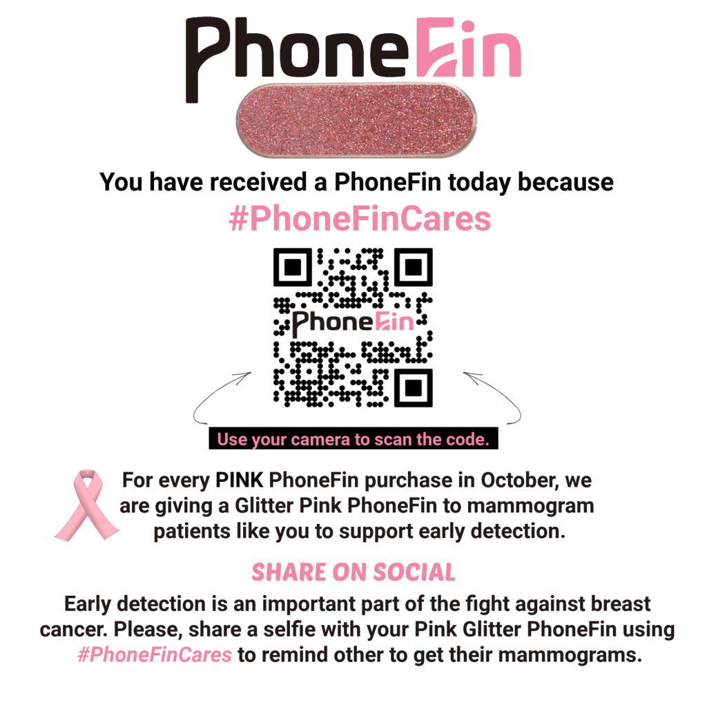 Breast Cancer Early Detection Campaign with PhoneFin