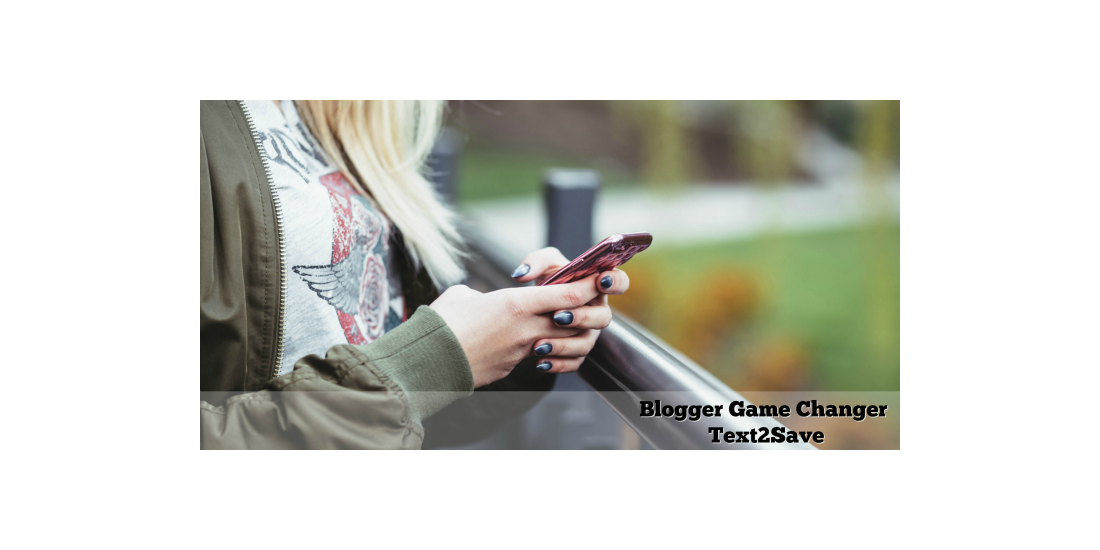 Blogger Game Changer with Text2Save