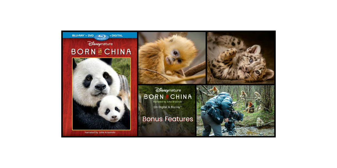 Born in China Bonus Features