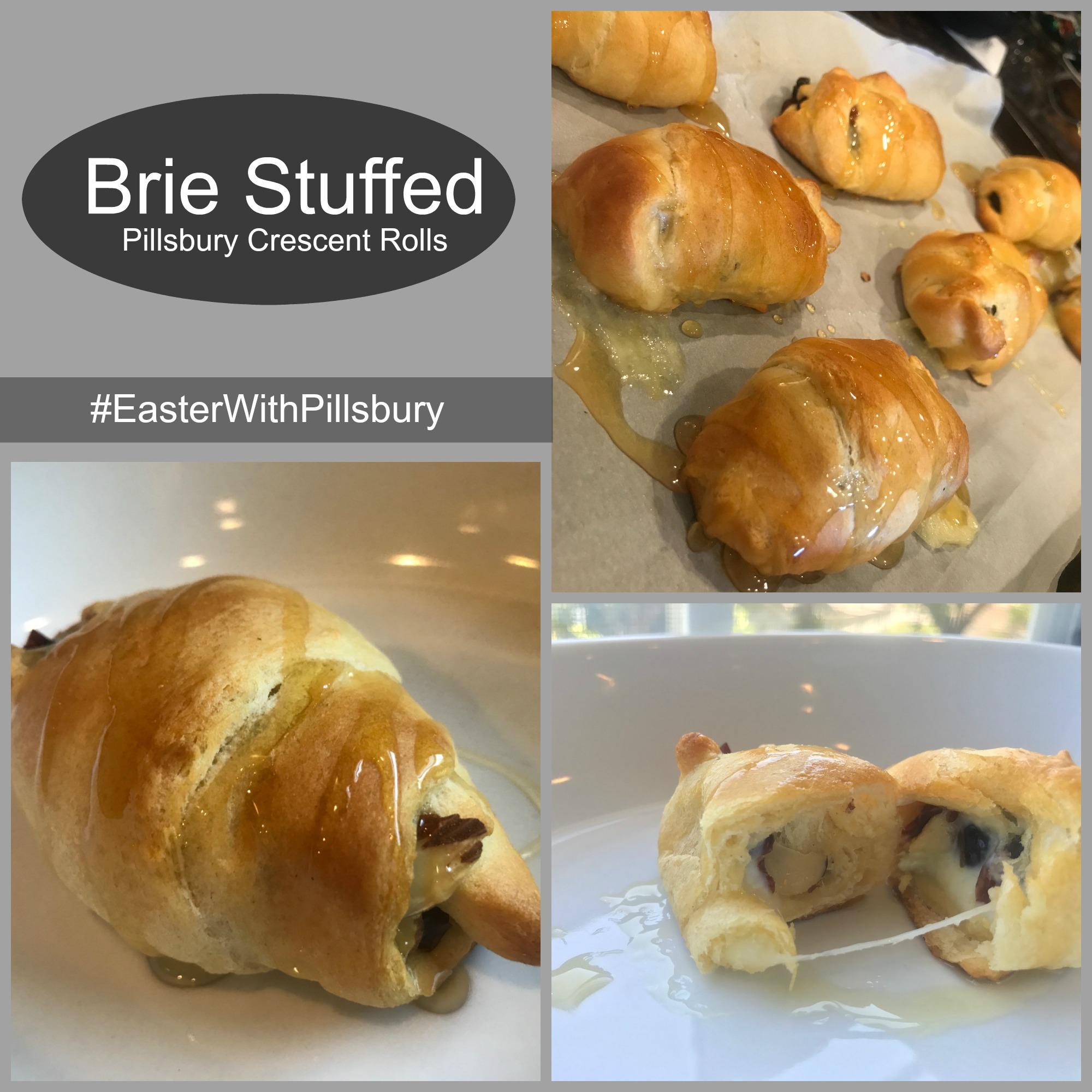 Stuffed Brie Crescent Rolls