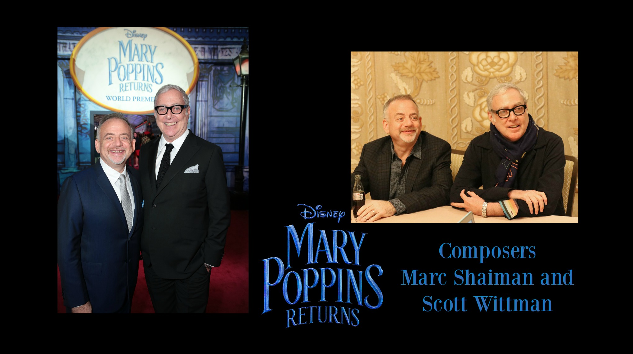 Composers Marc Shaiman and Scott Wittman