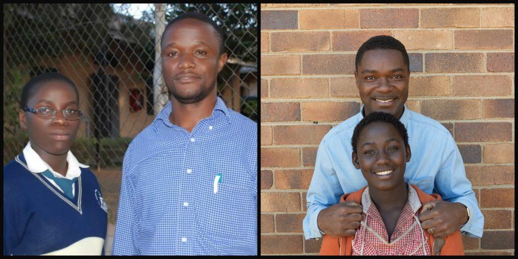 David Oyelowo as Robert Katende and Madina Nalwanga as Phiona Mutesi in Disney's Queen of Katwe