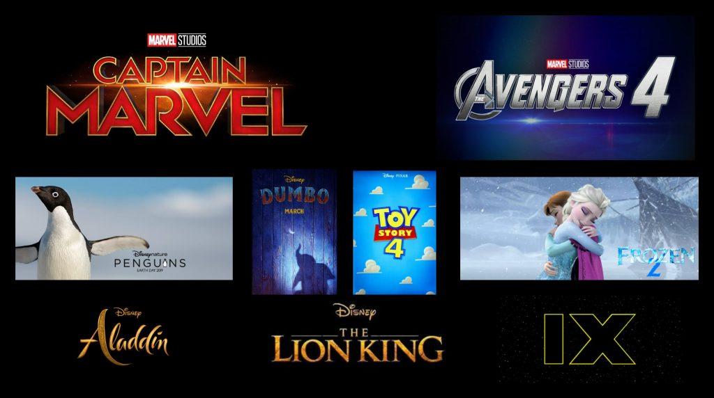 2019 Upcoming Movie Posters: Disney, Marvel, Star Wars, And Pixar