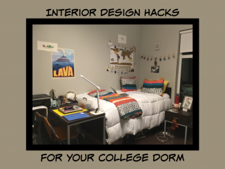 The Best Interior Design Hacks For Your College Dorm