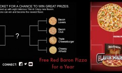 Free Red Baron Pizza for a Year