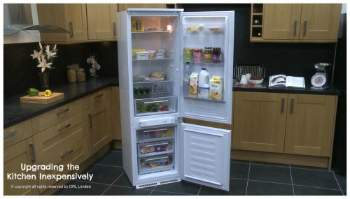 FridgeFreezeUpgrading the Kitchen Inexpensively