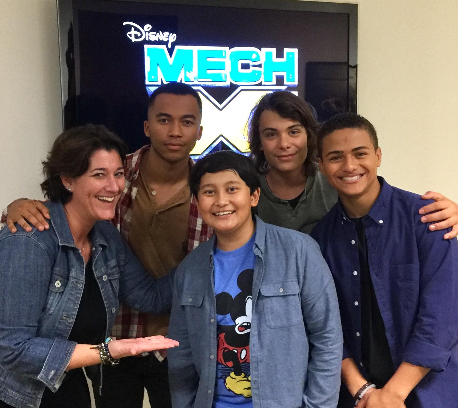 Mech-X4 cast with Trippin' with Tara
