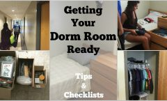 Get Your Dorm Room Ready