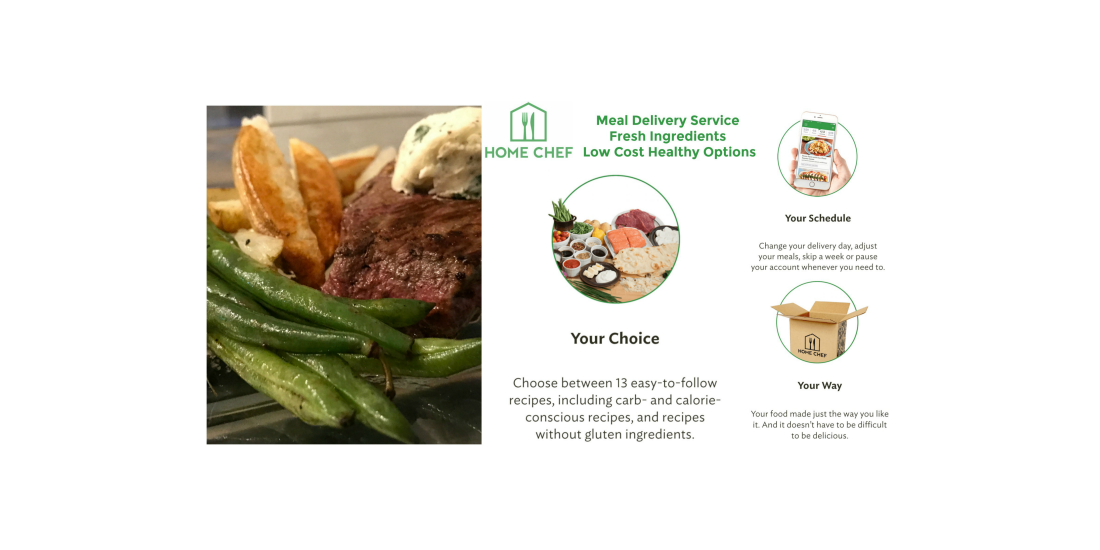 Home chef meal delivery service perfectly proportioned meals for home chef meal delivery service forumfinder