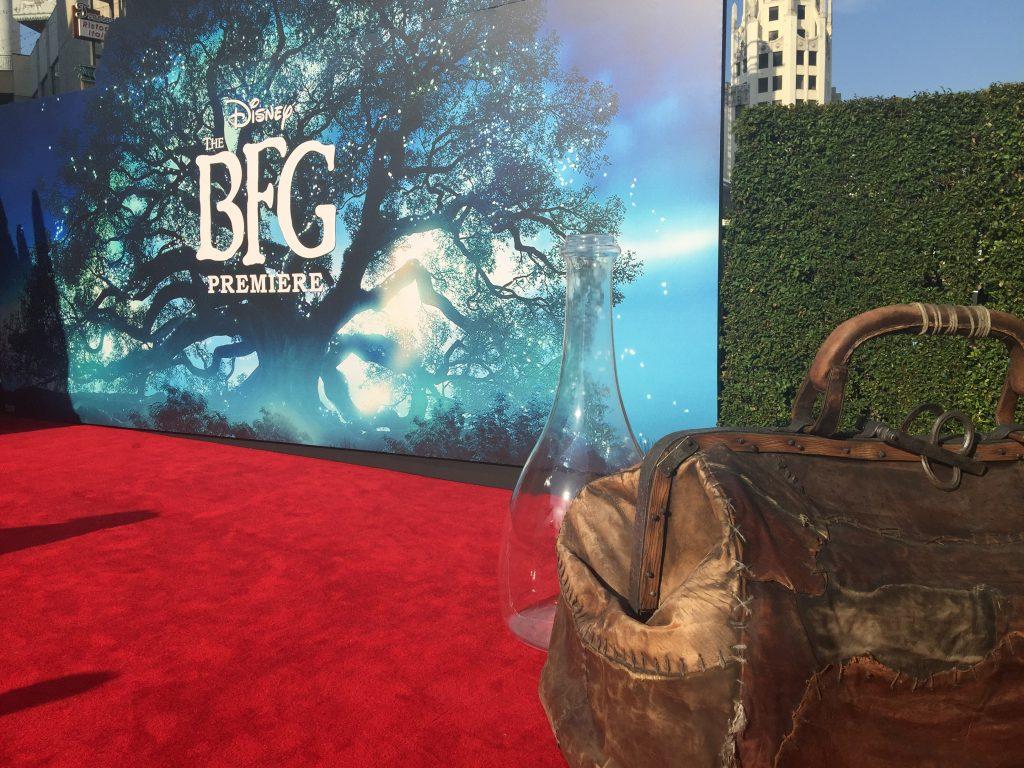 The BFG Premiere