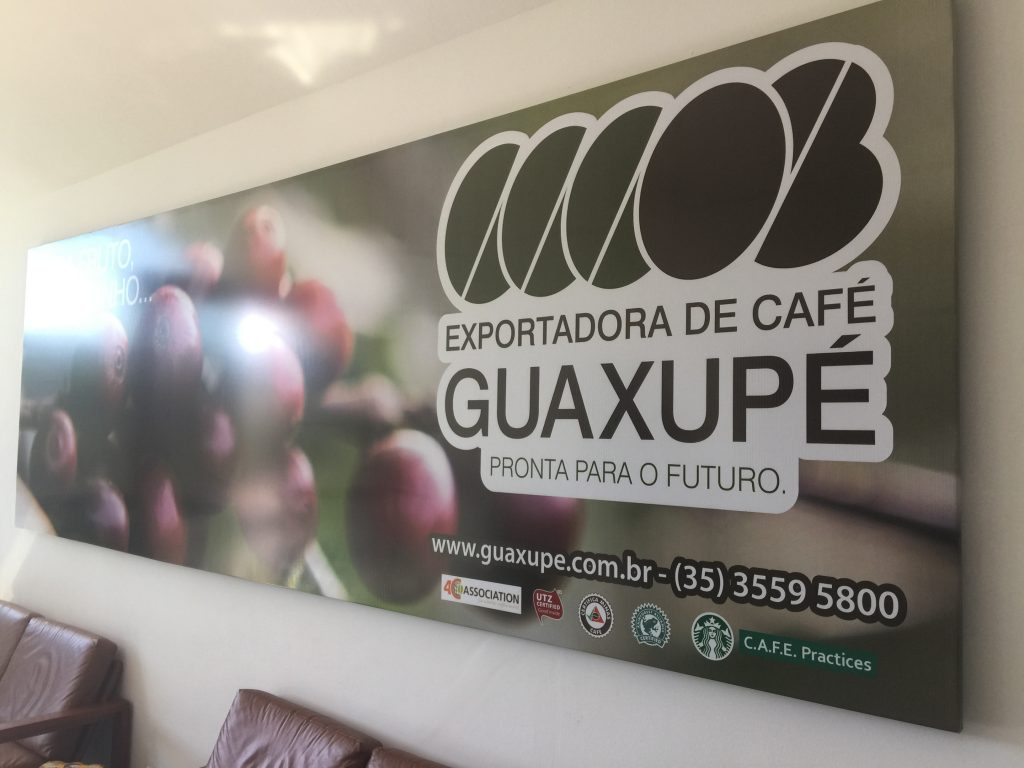 Brazil coffee Guaxupe