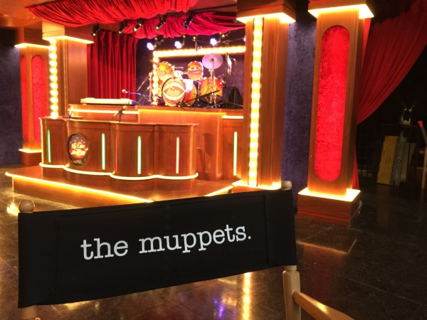 Set of the Muppets