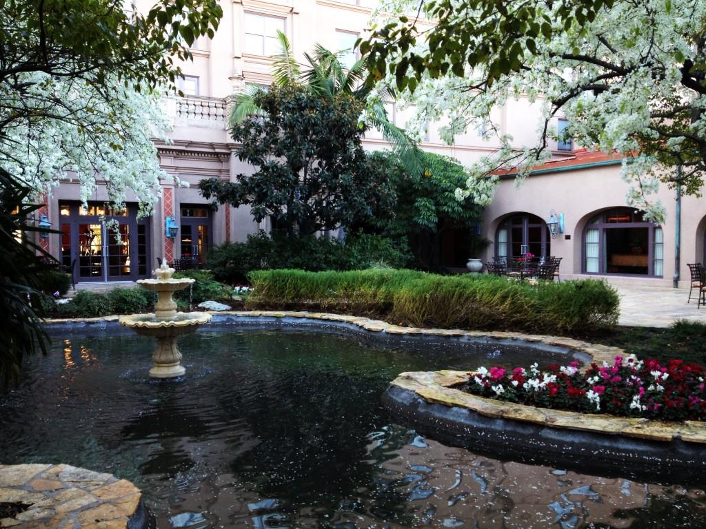 Grounds of The Langham Huntington, Pasadena.