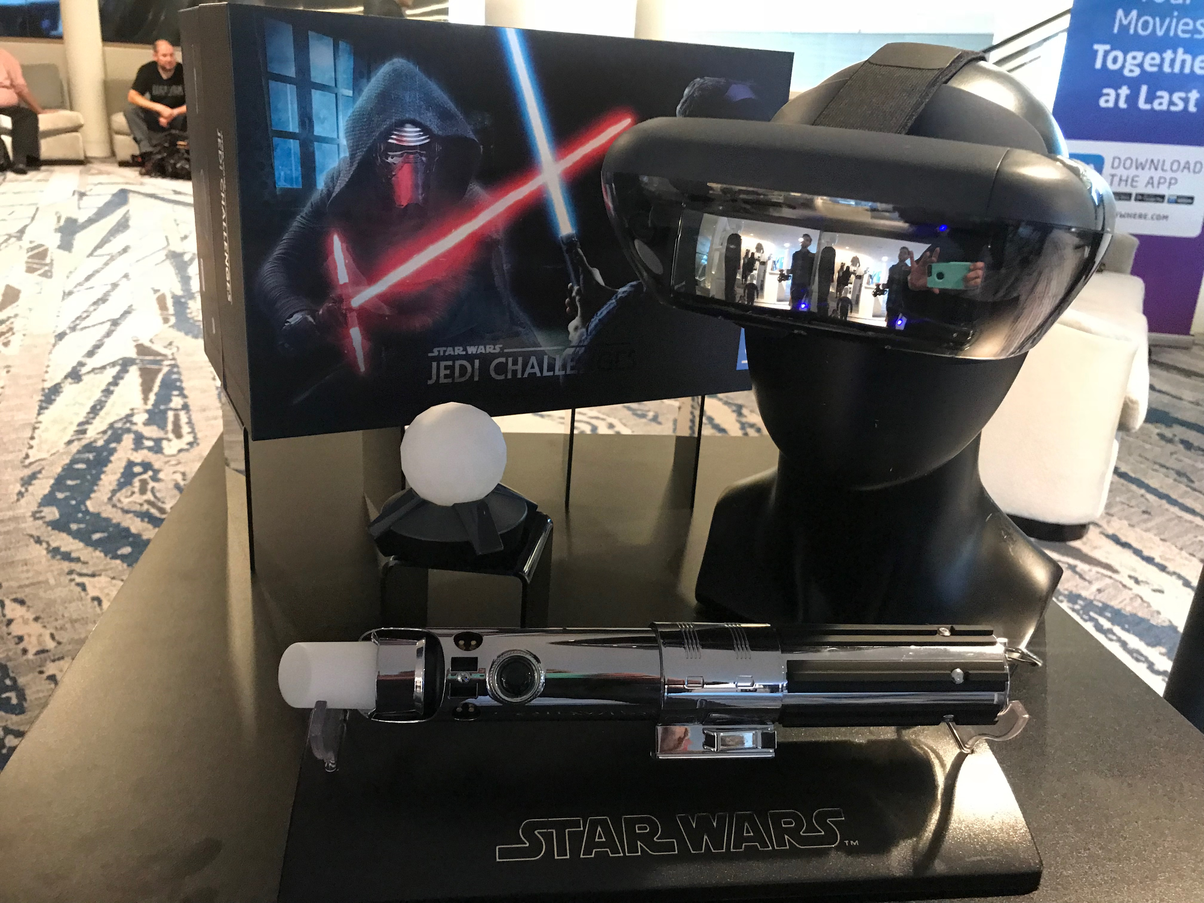 Star Wars Jedi Challenge Virtual Game