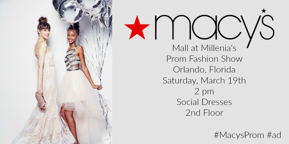 Macy\'s Mall at Millenia\'s Prom Fashion Show