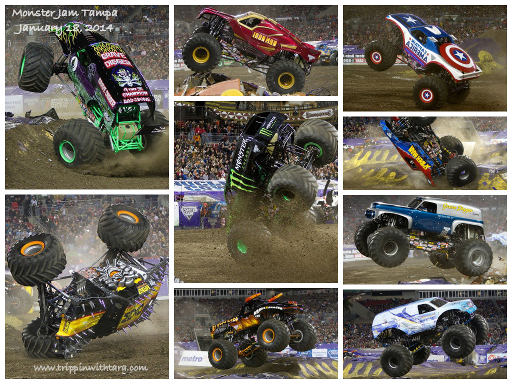 Monster Jam Tampa 2014
