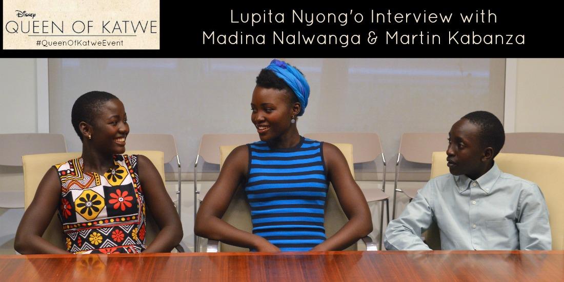 Madina Nalwanga, Lupita Nyong'o, Martin Kabanza