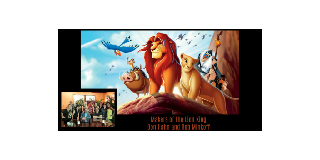 makers of the lion king don hahn and rob minkoff interview