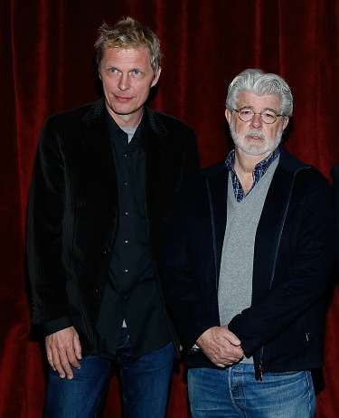 Marius De Vries and George Lucas Photo Credit Getty Images
