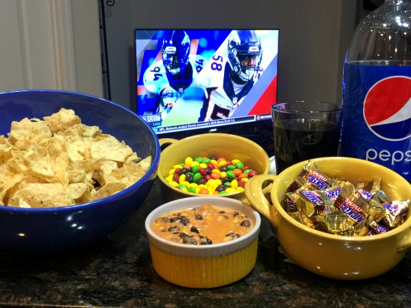 TOSTITOS® Salsa Dip for the Big Game Day
