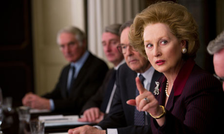 Meryl Streep as Margaret Thatcher in The Iron Lady, 2011