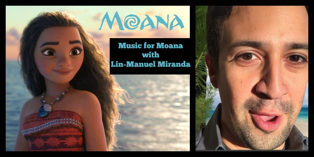 Music for Moana with Lin-Manuel Miranda