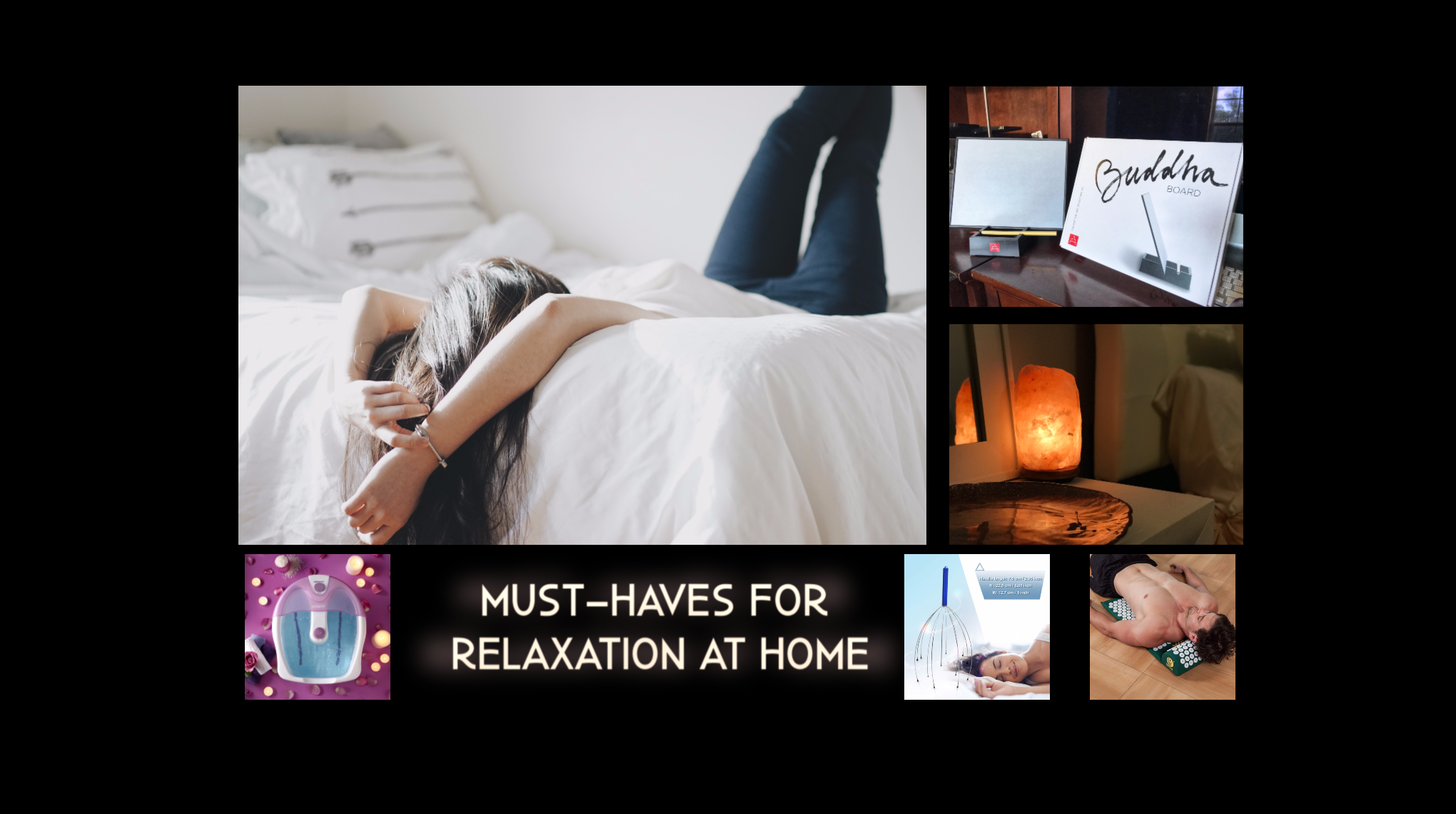 Must-Haves for Relaxation at Home